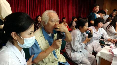 Việt Nam có 8 triệu bệnh nhân bệnh phổi tắc nghẽn mạn tính