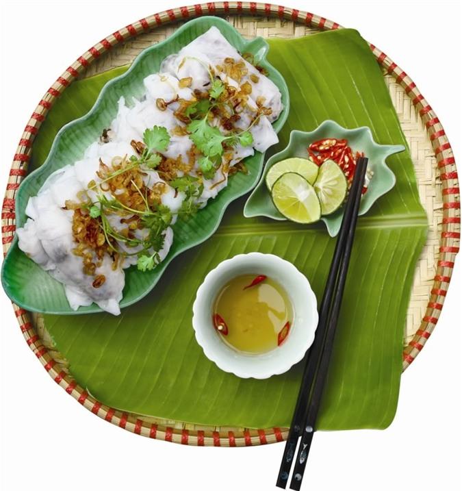 Đĩa bánh cuốn Hà Nội nổi tiếng được nhiều người ưa thích