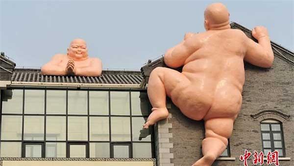 Lấy cả hình tượng Phật để quảng cáo súp 2