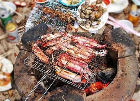 Nha Trang, nem nướng Nha Trang, bò nướng, hải sản