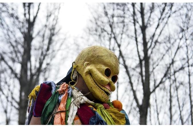 Chiêm ngưỡng điệu múa trừ tà của tu sĩ Tây Tạng - Ảnh 12