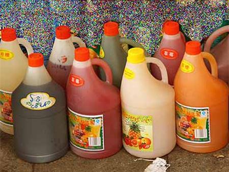 Đồ uống từ siro hóa chất khiến trẻ hiếu động thái quá 2