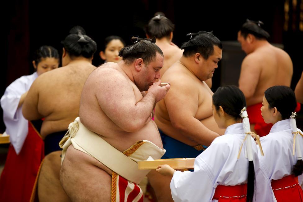 Độc đáo Lễ hội sumo ở Nhật Bản - Ảnh 7