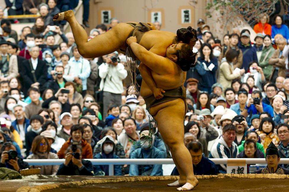 Độc đáo Lễ hội sumo ở Nhật Bản - Ảnh 13
