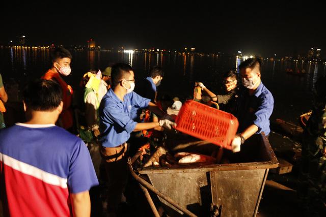 Hơn 10 tấn cá chết ở Hồ Tây - Ảnh 3