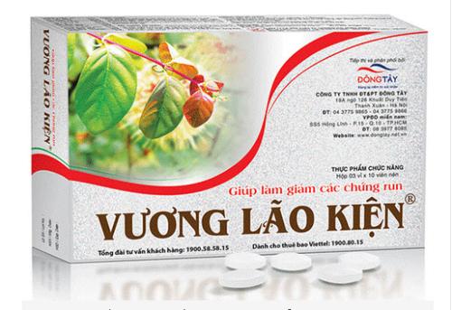 Thực phẩm chức năng Vương Lão Kiện giúp giảm dần các triệu chứng run