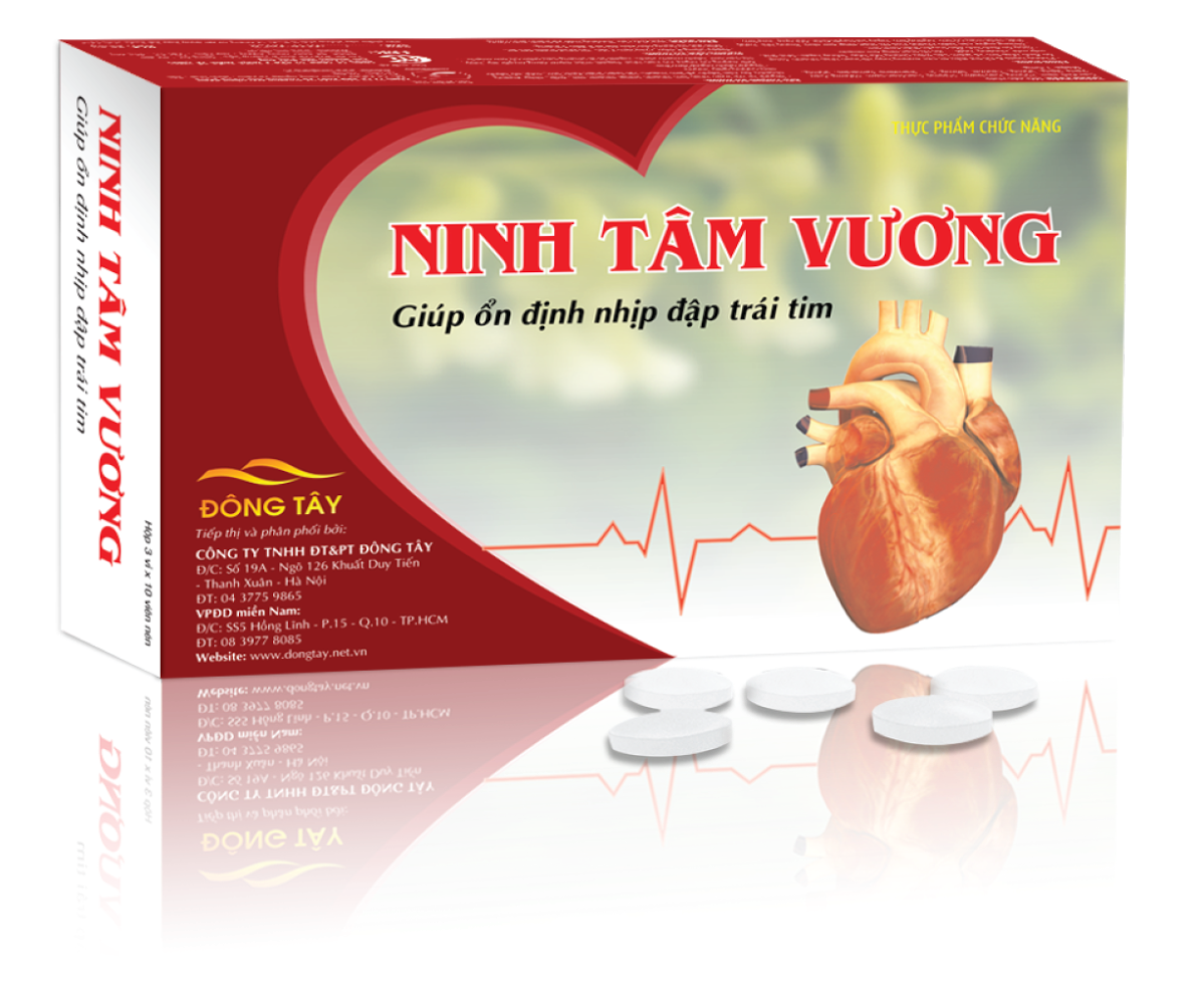 TPCN viên nén Ninh Tâm Vương – Giúp ổn định nhịp đập trái tim