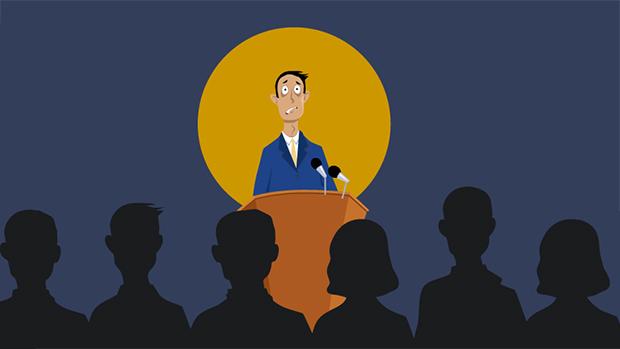 Infographic: Làm sao để khắc phục nỗi sợ khi phát biểu trước đám đông?