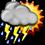 Bắc Bộ và Bắc Trung Bộ có mưa dông trên diện rộng - Ảnh 9
